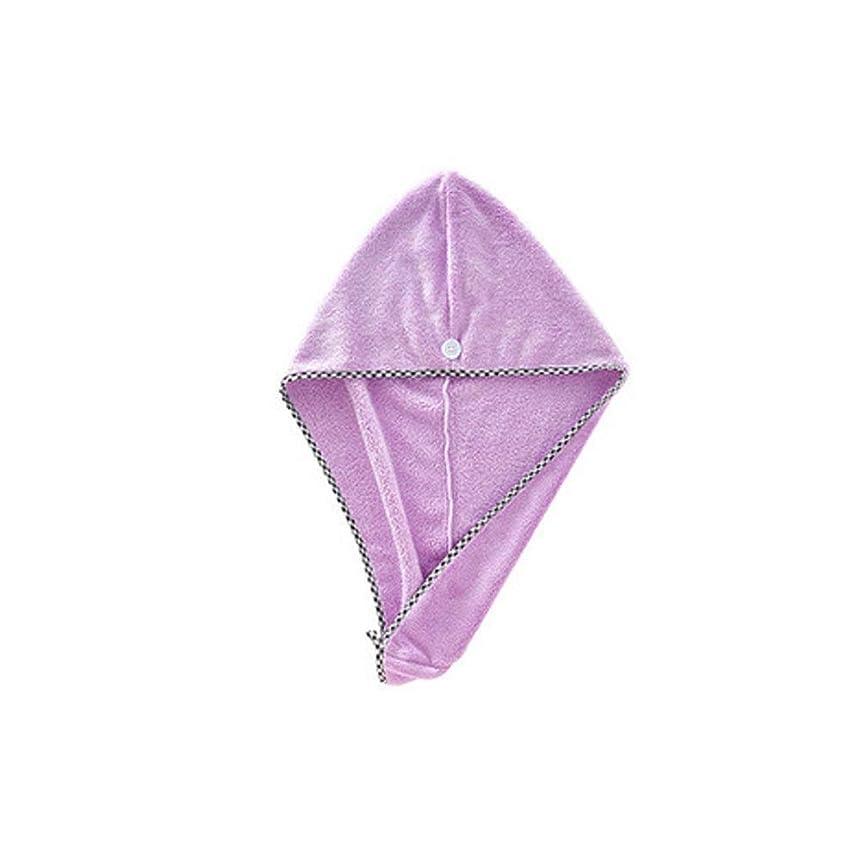 シェフマーチャンダイザー雲シャワーキャップ、すべての髪の長さと豪華なシャワーキャップの厚さ、再利用可能なシャワーに適したかわいいドライシャワーキャップカーキピンクパープル。 (Color : 3)