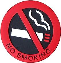 Shangjunol AutoadhesivasFabricamos Sin Fumar Cigarrillos Logo de Coches estación calcomanía vehicular la señal de Peligro de la Etiqueta de PVC