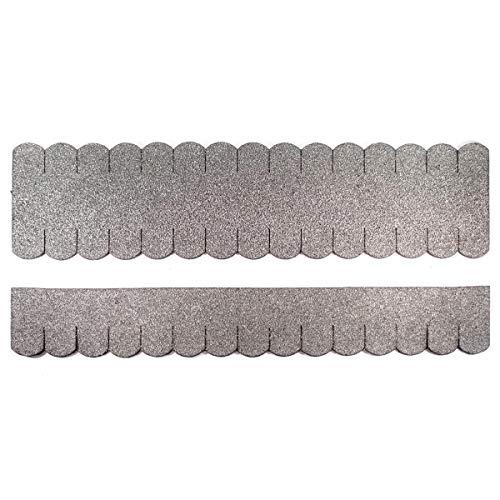 Martinshof Rothenburg Diakoniewerk Mini -Dachschindeln Biberschwanz (33 mm) - Set - Grau 23.407