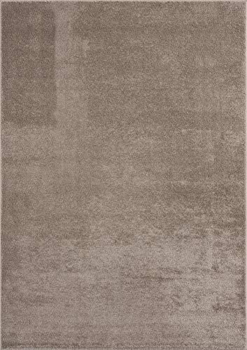 """Mia´s Teppiche """"Emma"""" Tapis Salon, Courte Pile, 80x150 cm, Beige"""