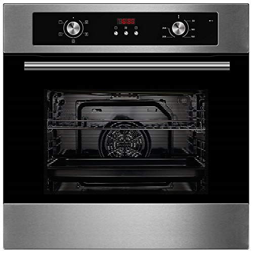 Cookology Built-in Electric Single Fan Oven in Stainless Steel with...