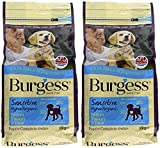 Burgess Sensitive Hypoallergenic Dog Food Puppy British Turkey and Rice 2kg (Pack of 2)