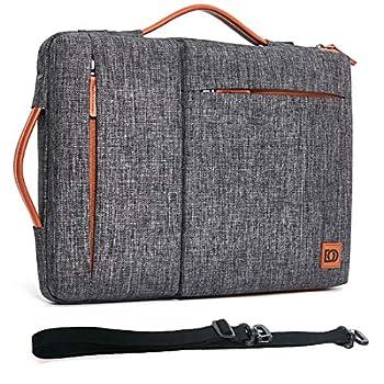 DOMISO 13.3 Inch Laptop Sleeve Shoulder Bag Carring Pouch for 13  MacBook Air 2014-2017/13.3  ThinkPad L390 Yoga X380 Yoga/13.9  Lenovo Yoga C930 GLASS/14 HP EliteBook 820 G3 830 G5 840 G5 x360 G2