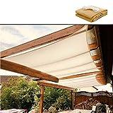 HYHY 95% Sombra Tejido Sun Shade Paño con Ojales para Cubierta De Pérgola Toldo Más Tamaños Opcional, Resistente A Los Rayos UV Sunblock Shade Net Screen Sun Tarp Mesh