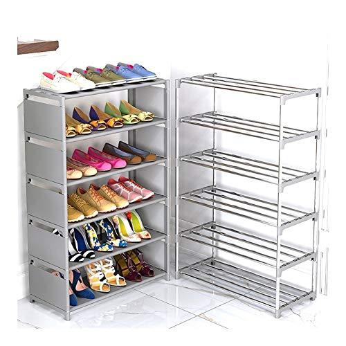 Wlbhb Zapato montado gabinete, Zapatos a Prueba de Polvo de Almacenamiento Zapatero (Color : Pink 4L)