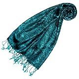 LORENZO CANA - Pashmina Damen Schal Schaltuch hochwertig kuschelweich und