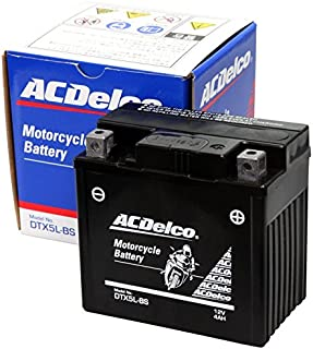 ACDelco [ エーシーデルコ ] シールド型 バイク用バッテリー DTX5L-BS