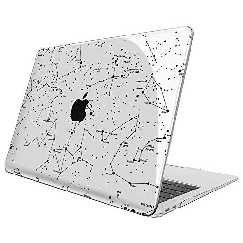 Fintie Hülle für MacBook Air 13 (2020 2019 2018 Freisetzung) A2179 / A1932 - Ultradünne Glatt Hartschale Schutzhülle Snap Case für Apple MacBook Air 13
