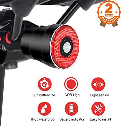 Bike Taillight USB LED Indicator Ultra Bright Safety Warning Bicycle Rear Light