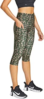 Rockwear Activewear Women's Sprint 3/4 Print Pocket Tight from Size 4-18 for 3/4 Length Bottoms Leggings + Yoga Pants+ Yog...