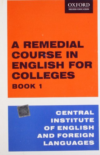 REMEDIAL COURSE IN ENG. BK 1