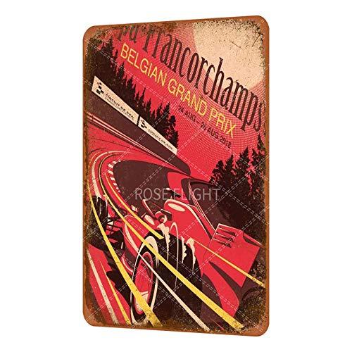 Rose Flight ocky 1 versión 2. Cartel clásico Stallone de metal vintage...