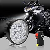 Best S&D Hid Headlights - S&D LED Motorcycle Headlight Bulb with Switch, Universal Review