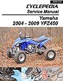 2004-2009 Yamaha YFZ450 Sport Quads Service Manual