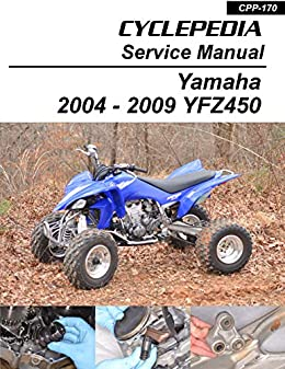 free wiring schematic 2005 yfz 2004 2009 yamaha yfz450 sport quads service manual  cyclepedia  2004 2009 yamaha yfz450 sport quads
