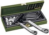 Proxxon 23231 Speeder-Ratschenschlüsselsatz 6-teilig, 6 x 7 bis 17 x 19 mm