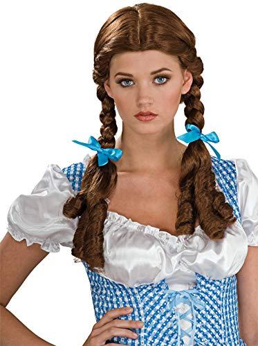 Rubie's Wizard Of Oz Dorothy Wig, Brown, One Size