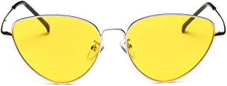 5f288ce3d7 Gafas, Challeng Hombre y mujer de verano retro gafas de gato Moda neutra  Plancha de