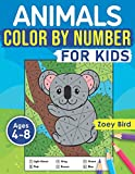 """Animals Color by Number for Kids: Coloring Activity for Ages 4 €"""" 8"""
