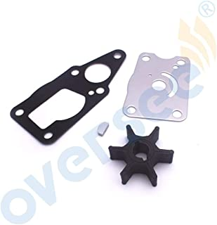 17400-98661 New Water Pump Impeller Service Kit For Suzuki Outboard Df4 Df6 18-3266