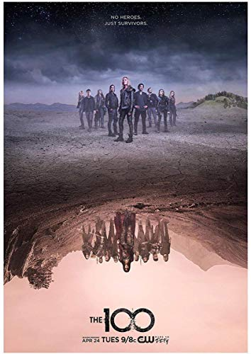 """burning desire poster Poster The cw The 100 Limited 12""""x18"""""""