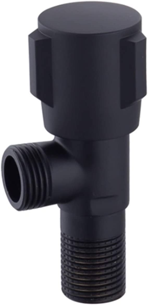 Control 1pc Copper Plumbing Valve Animer and price revision Wall Outlet Black Max 86% OFF F G1 Male 2