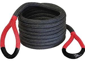 "Bubba Rope 176680RDG 7/8"" x 30' Breaking Strength Original Rope with Standard Red Eye - 28600 lbs. Capacity"