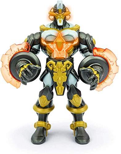 ToysWorld Gormiti Elemental Titan Titano degli Elementi Deluxe con Luci 25 cm Giochi Preziosi con Bracciale Ciondolo Angelo + Penna Colorata