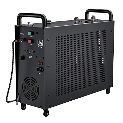 GX E-5K2 PCP Air Compressor, 4500psi 110V 1200W, Auto-Stop Setting, 2 Pistons & 4 Stages Compression, Water and Fan Cooling, Moisture Filter,10 Hours Continuous Work for Paintball,Scuba Dive Tank