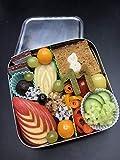 Anton & Sophie ECOlunchbox Solo Cube - Brotdose/Lunchbox - 100% Edelstahl - MIT Namen PERSONALISIERBAR - umweltfreundlich - langlebig (ohne Namen)