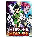 Elibeauty Hunter X Hunter Group Anime-Poster, mattes
