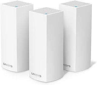 Linksys WHW0303 Velop Sistema WiFi Mesh Tri-Band per Casa, Router AC6600/Range Extender, Copre Fino a 525 mq, 3 Terminali ...