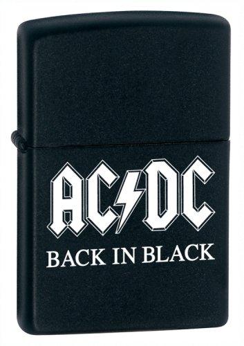 Original Zippo Feuerzeug AC/DC - Back in Black