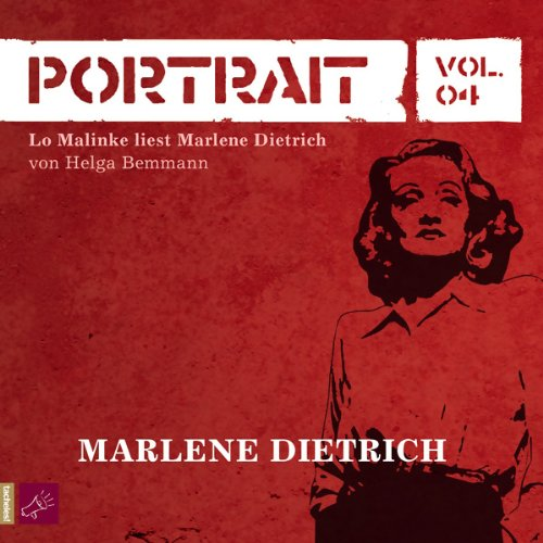 Portrait - Marlene Dietrich Titelbild