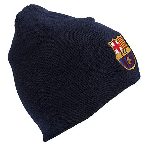 FC Barcelona - Bonnet officiel - Homme (Taille unique) (Bleu marine)