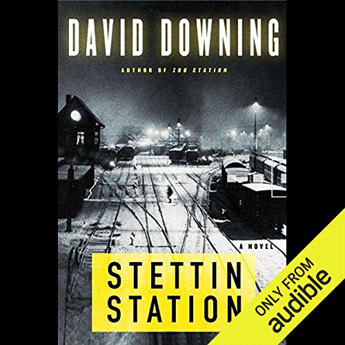 Stettin Station audiobook cover art