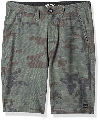 BILLABONG Herren Crossfire Slub Hybrid Walkshort Legere Shorts, Camouflage, 52