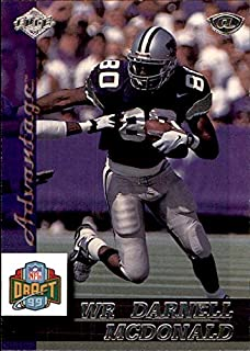 1999 Collector's Edge Advantage #178 Darnell McDonald RC ROOKIE KANSAS STATE WILDCATS