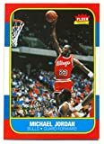 Michael Jordan Chicago Bulls 1996-97 Fleer Premiere Decade of Excellence 1986 Rookie RC Reprint #4
