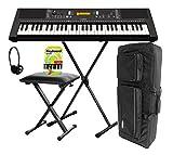 Yamaha PSR-E363 Keyboard, 61 Tasten Deluxe Set (61 anschlagdynamische Tasten 48...