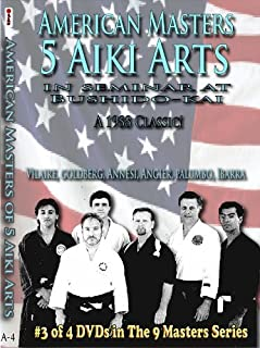 NINE MASTERS 4: American Masters of 5 Aiki Arts - CyberMonday Sale Price!