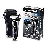 Panasonic ES-LV65-S803 Premium Wet & Dry - Afeitadora Eléctrica para Hombre/Máquina de Afeitar de Láminas para Barba Recargable...