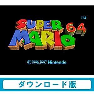 """スーパーマリオ64 [WiiUで遊べるNINTENDO64ソフト][オンラインコード]"""""""