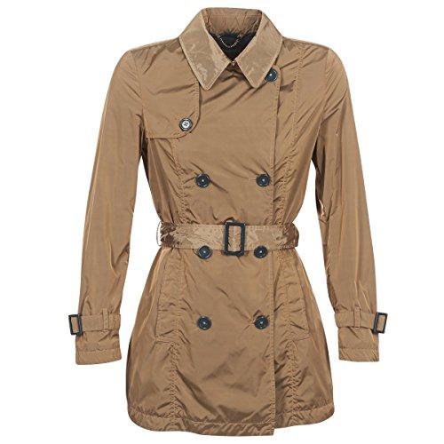 Geox Racelo Mäntel Damen Beige - DE 34 (IT 40) - Trenchcoats Outerwear