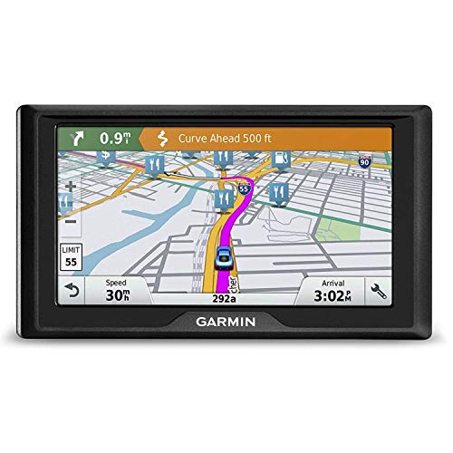 Garmin Drive 6LM EX Features a 6  Screen, Lifetime Maps, and US Maps
