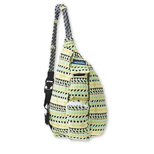 KAVU Mini sac en corde, ceinture dorée, taille unique