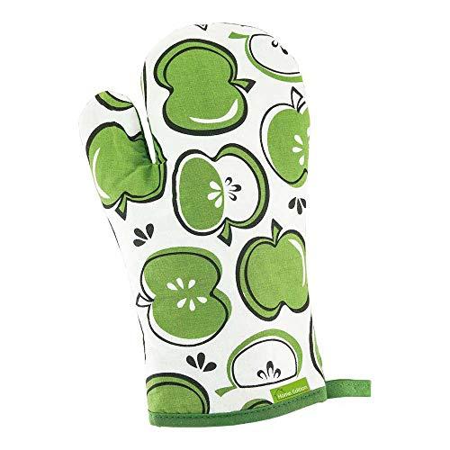 Rijst COOK-GLOPER keukenhandschoen, groen-wit, Uni grootte, 12 stuks