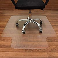 AUSELECT Office Chair Mat for Hard Floor, Wood Floor Protector Mat for Office Home Anti-Slip Wheel Gaming Chair Mat...
