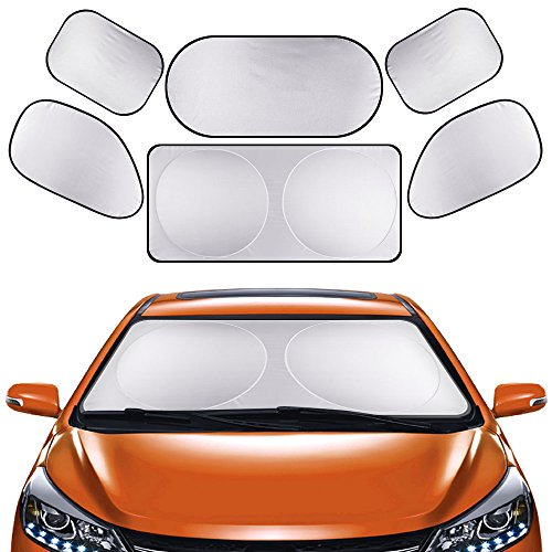 Parasol Coche - Parasole auto per parabrezza con tendine anteriore.