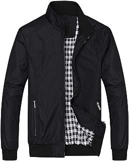 Leomodo Classical Men's Fashion Wind Proof Jackets Casual Jacket Coats Collar Slim